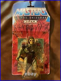 Vintage MOTU Skeletor Original Heman Action Figure Toy 1982 12- Back