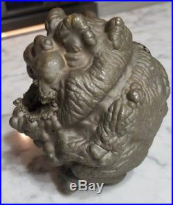 Vintage Madballs Burp Puff Ball Action Figure Copper Toy Factory Mold Ertl