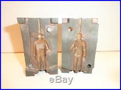 Vintage Marx Dwight D. Eisenhower Ike 60mm Steel Figure Injection Mold Rare