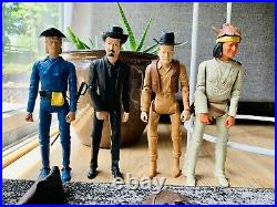 Vintage Marx Johnny West Action Figures Lot