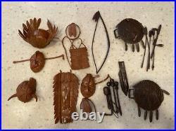Vintage Marx Johnny West Figures & Access. Johnny West, Geronimo, Cobra, Custer