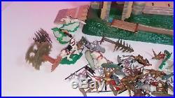 Vintage Marx Knights and Castle Vintage Playset Figure Lot Rare