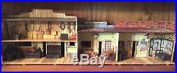 Vintage Marx Western Jail Side Set 4229 Figures, Furniture, Extras
