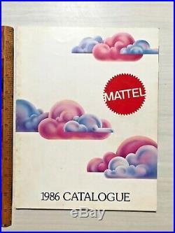 Vintage Mattel Australia Toy Catalog My Child Dolls Motu Voltron Action Figures