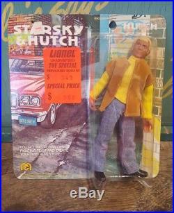 Vintage Mego 1976 Starsky and Hutch 8 Hutch Action Figure Doll MOC Toy
