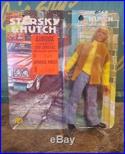 Vintage Mego 1976 Starsky and Hutch 8 Hutch Action Figure Doll MOC Toy