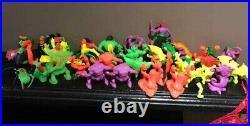 Vintage Monster In My Pocket MIMP Bag x78 Toy Figure Lot Bundle Series 1 2 4 5 6