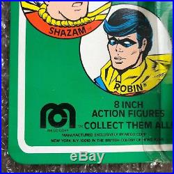 Vintage NEW UNPUNCHED 1976 Mego Green Arrow Mint Carded Action Figure WGSH Toy