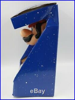Vintage Nintendo Super Mario Bros Plush 12 Tall Figure Doll Toy Applause 1989
