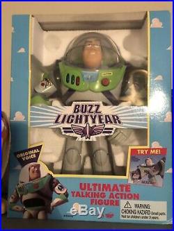 Vintage Original Disney Toy Story Buzz Lightyear 1995 with Original Box MINT