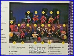 Vintage Playmates Teenage Mutant Ninja Turtles Action Figures Toy Fair Catalog
