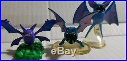 Vintage Pokemon Auldey TOMY Toy Figure 2 GOLBAT, ZUBAT AND CROBAT FREESHIP