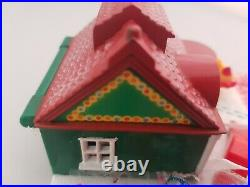 Vintage Polly Pocket BlueBird 1993 Holiday Christmas Toy Shop COMPLETE