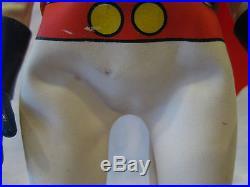 Vintage RAINBOWMAN Nakajima nodder vinyl figure with Mask sofubi tokusatsu toy