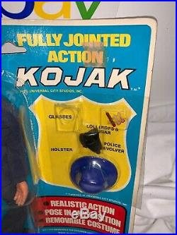 Vintage RARE 1976 KOJAK Action figure 8 TV Show 1976 Excel Toy