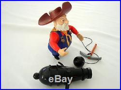 Vintage RARE Toy Story Stinky Pete Shifty Shootin Prospector Action Figure