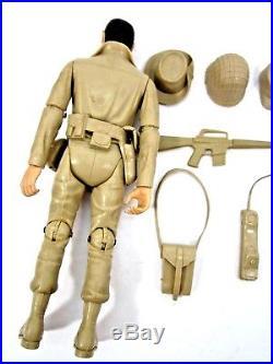 Vintage Rare 1967 Marx Rat Patrol Sam Troy Action Figure 1960's Tv Toy