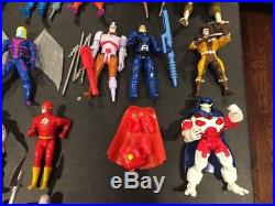 Vintage Rare 1990s Marvel Toy Biz action figures Lot Wolverine Cable Nimrod 90s