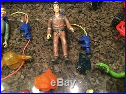 Vintage Real Ghostbusters Action Figure Toy Lot Ghosts Accessories Vehicles