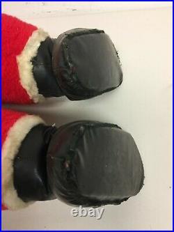 Vintage Rushton Santa Doll Rubber Face Toy Atlanta GA 36