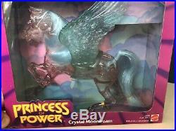 Vintage She-ra Princess of Power horse CRYSTAL MOONBEAM Toy Figure NIB MOTU