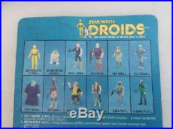 Vintage Star Wars DROIDS Cartoon C-3PO MOC Action Figure Toy Kenner 1985 C3PO