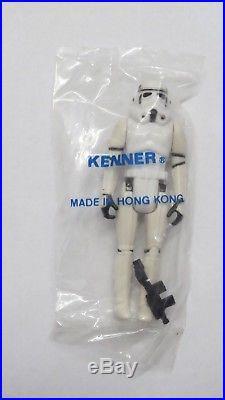 Vintage Star Wars KENNER BAG Stormtrooper 1977 mib sealed action figure toy sw
