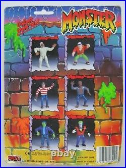 Vintage Sungold Monster Sharp Hand Joe Freddy Krueger Knock Off Ko Toy Figure