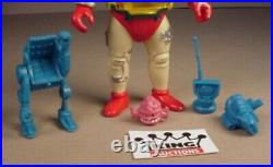Vintage TMNT Krang & Android Action Figure Ninja Turtles 5 Toy 1994 Playmates