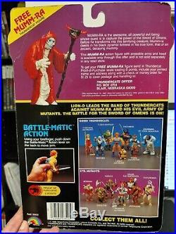 Vintage Thundercats HACHIMAN Figure Complete Sealed MOC Toy Original 1986 LJN