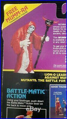 Vintage Thundercats HACHIMAN Figure Complete Sealed Toy Original 1986 LJN