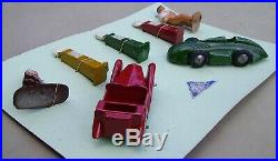 Vintage Timpo Toys Petrol Station boxed set lead cars pumps and figures