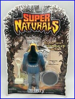 Vintage Tonka Super Naturals Thunder Bolt Thunderbolt Toy Action Figure MOC 1987