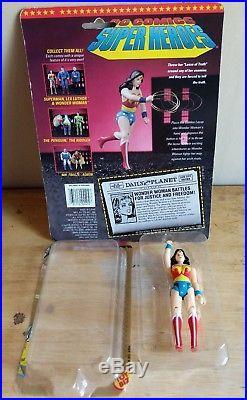 Vintage Toy Biz DC Comics Super Heroes Set of 14 figures + Hall of Justice