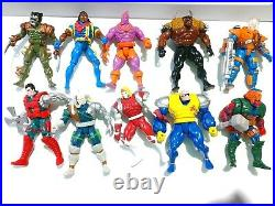 Vintage Toy Biz Marvel 90's Action Figure Lot of (68) Figures X-Men