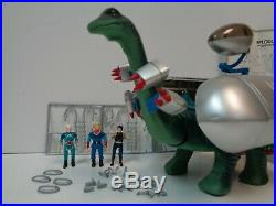 Vintage Toy DIPLODOCUS Dino-Riders Complete Figure Playset in Box 1987 Tyco