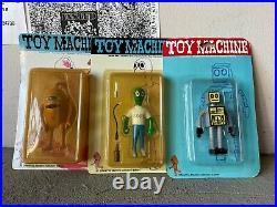 Vintage Toy Machine Skateboard Figure Ed Templeton Set MOC