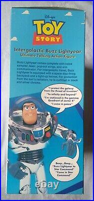 Vintage Toy Story Intergalactic Buzz Lightyear Ultimate Talking Action Figure