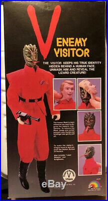Vintage Toy V Enemy Visitor LJN Figure Doll 4500 1984 New Sealed Mint Boxes