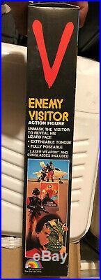 Vintage Toy V Enemy Visitor LJN Figure Doll 4500 1984 New Sealed Mint Boxes