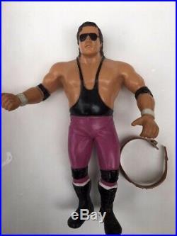 Vintage Toy WWF LJN Bret Hart Action Figure