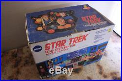 Vintage Toys Star Trek Toys 1976 Mego 8 Scale Action 5 Figure Playset Lot