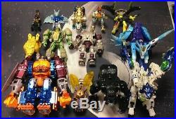 Vintage Transformers Beast Wars Toy Lot 90s Optimus Prime Action Figures Rare