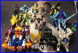 Vintage Transformers Beast Wars Toy Lot 90s Optimus Prime Action Figures Rare