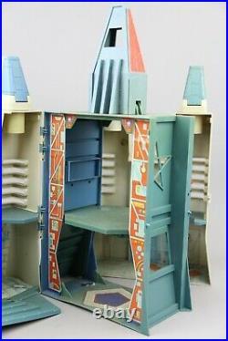 Vintage VOLTRON TOY CASTLE Of LIONS 1984 figure Panosh Place with Accessories