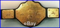 Vintage WCW World Championship Belt Kevin Nash Metal Figures Toy Co Very Rare