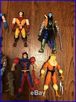 Vintage Xmen Predator Alien The Shadow Toybiz Kenner Figures Toy Lot