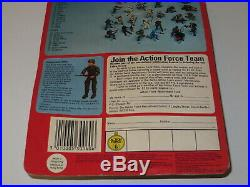 Vintage gi joe action force COBRA OFFICER toy figure moc unpunched HASBRO rare