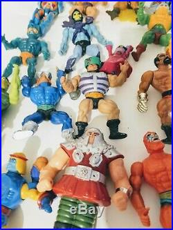 Vintage he man masters of the universe lot of 21 toy figures