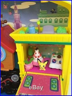 Vintage pokemon DX JAPANESE VER TOMY TAKARA PLAYSET withFIGURE, MINT toy game 2000